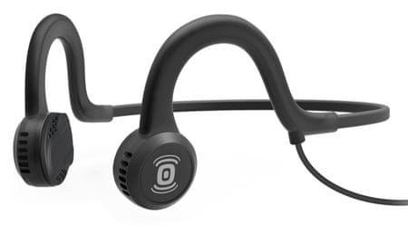 AfterShokz Sportz Titanium s mikrofonem, černá