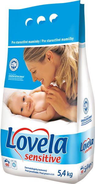 Lovela Sensitive 5,4 kg, 60 praní