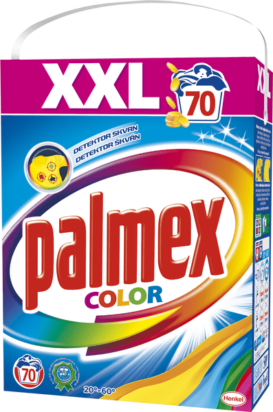 Palmex Prací prášek Color 4,9 kg, 70 praní