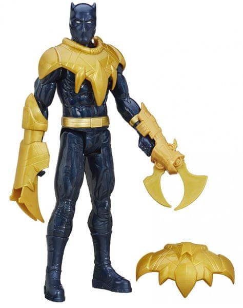 Avengers 30cm figurka s výstrojí - Black Panther