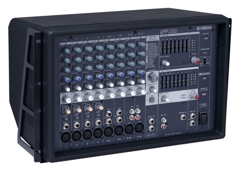 Yamaha EMX 312SC Mixážní pult se zesilovačem