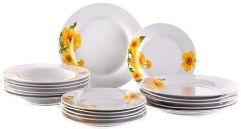 Banquet Sada talířů Sunny, 18 ks