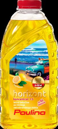 Paulina Horizont letno čistilo za vetrobransko steklo 1:5 Limona 1L