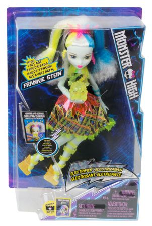 Monster High Frankie Stein i Potworne Napięcie
