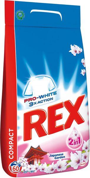 Rex Prací prášek Rex Japanese Garden 4,5 kg, 60 praní