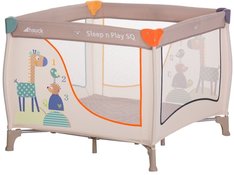 Hauck Hauck Sleep n Play SQ 2017, animals