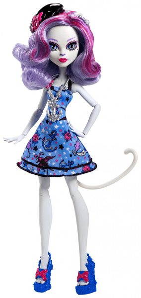Monster High Mořská Ghúlka Catrine DeMew