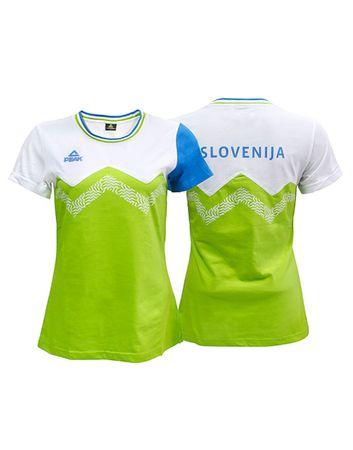 Peak uradna navijaška majica S1600, ženska, M, zelena