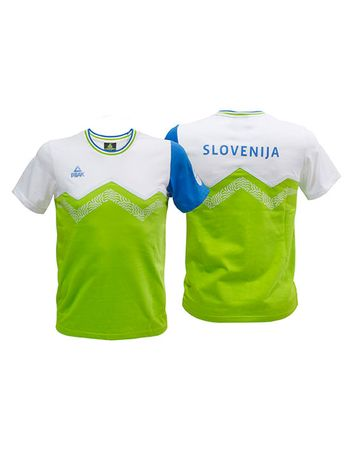 Peak uradna navijaška majica S1600, otroška, XXS, zelena
