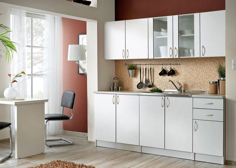 Kuchyně JOLANA II 200 cm, bílá