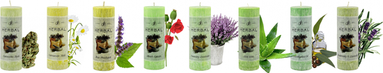 JCandles svíčka Herbal Rosemary & Lavender