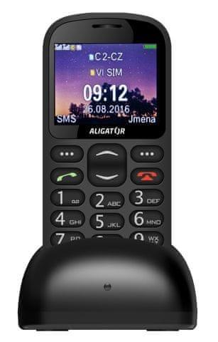 Aligator A880, černý