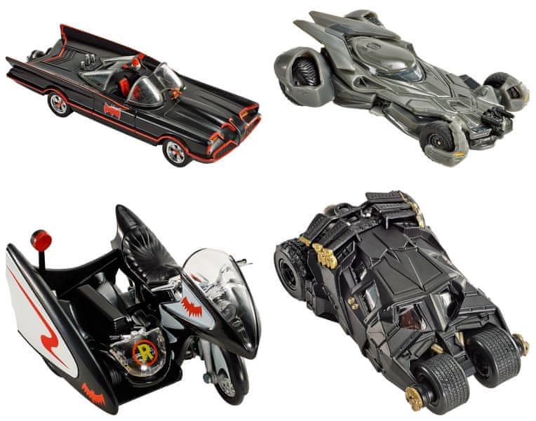 Hot Wheels Prémiové auto Batman