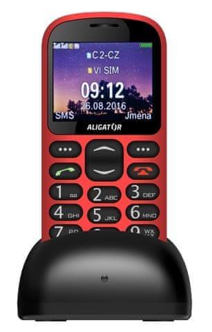 Aligator A880, červený