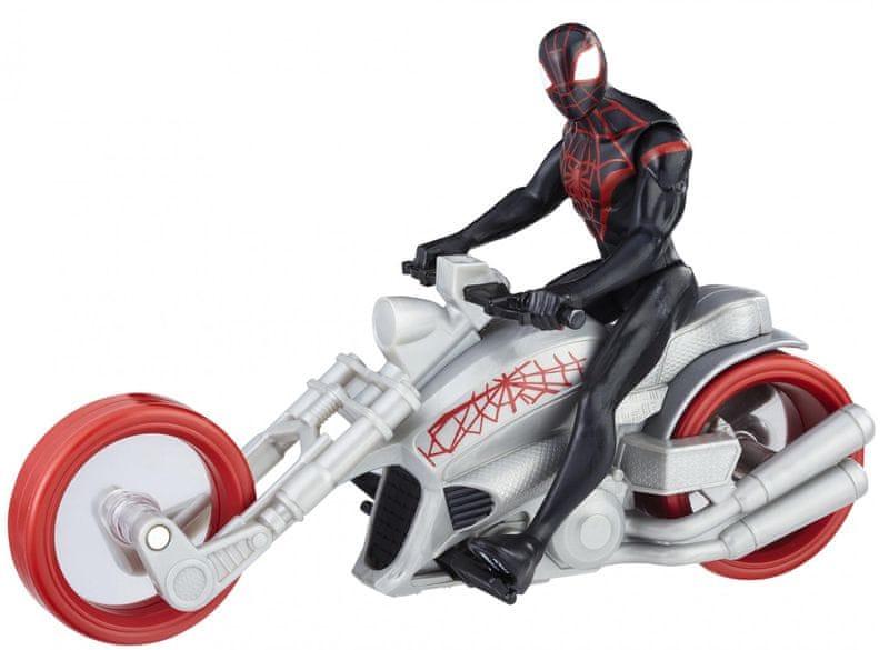 Spiderman 15cm figurka s vozidlem Kid Arachnid