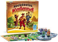 Piatnik Kockázatos Kaland Társasjáték - Magyar nyelvű