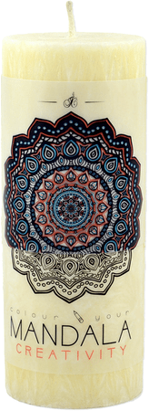 JCandles sviečka Mandala Creativity