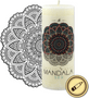 2 - JCandles sviečka Mandala Sex