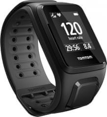 "TomTom Runner 2 Cardio Black Anthracite ""L"""