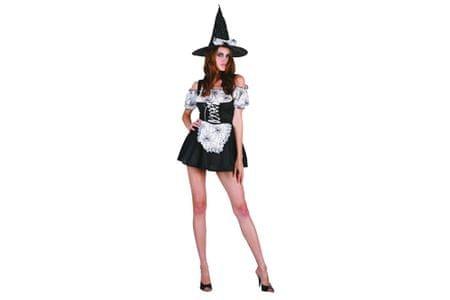 Unikatoy kostum čarovnice za odrasle (24307)