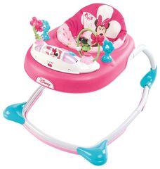Bright Starts Chodítko Minnie Mouse Bows & Butterflies Walker 6m +, 11kg