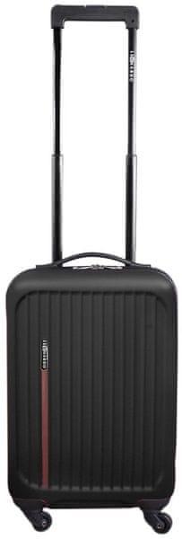 Leonardo Palubní kufr Trolley Premium černá