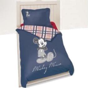 Disney povlečení s motivem Mickey modré 140x200/65x65 cm