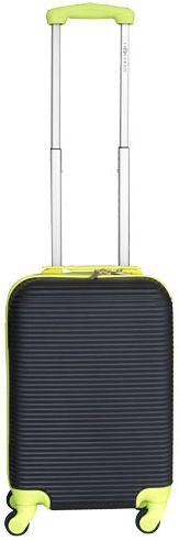 Leonardo Palubní kufr Duo Color černá-zelená