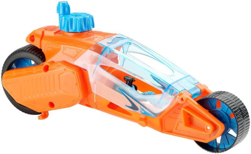 Hot Wheels Speed Winders Twisted Cycle oranžová