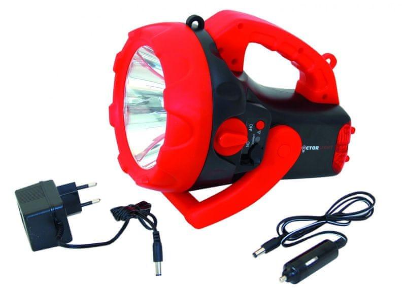 Velamp Nabíjecí 10W pracovní LED reflektor DL1010R
