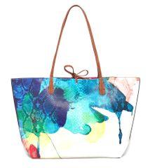 Desigual vícebarevná kabelka Capri Aquarelle