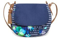 Desigual ženska torbica plava Genova Ivyblue