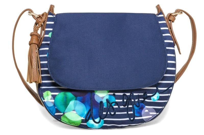 Desigual modrá kabelka Genova Ivyblue
