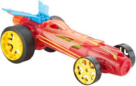 Hot Wheels Autonakręciaki wyścigówka DPB63 czerwona