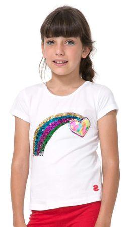 Desigual dekliška majica Kentucky 140 bela
