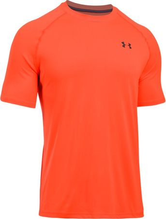 Under Armour majica Tech SS Tee, oranžna/siva, L