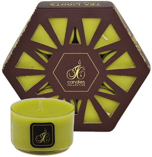 JCandles Čajové svíčky Lemon Balm 7 ks