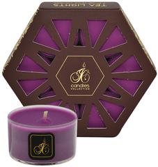 JCandles Čajové sviečky Black Grapes 7 ks