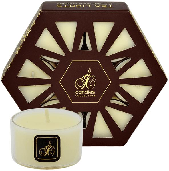 JCandles Čajové svíčky Aloe Vera 7 ks