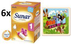 Sunar Complex 1 - 6 x 600g + Puzzle Krtek a mašinka