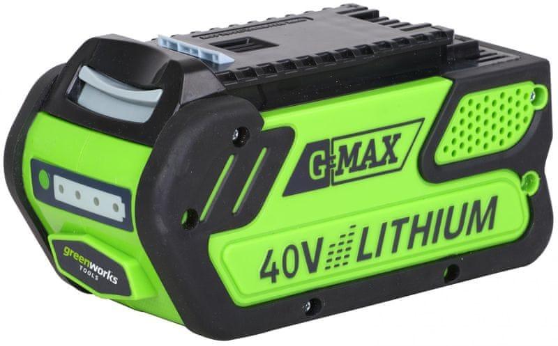 Greenworks G40B4 - 40 V Lithium Iontová baterie 4Ah