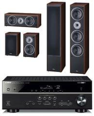 Yamaha HTR-4069 + Magnat Monitor Supreme 1002 set, kávová