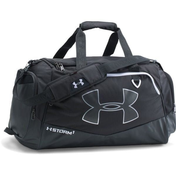 Under Armour Undeniable LG Duffel II Black Black White