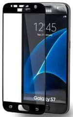 Azuri Tvrzené sklo Edge2Edge (Samsung Galaxy S7), černá