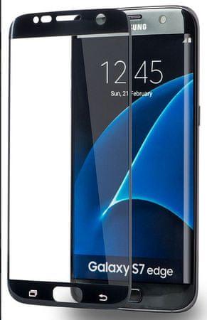 Azuri Tvrzené sklo Edge2Edge (Samsung Galaxy S7Edge), černá