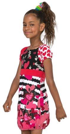 Desigual dívčí šaty Annapolis 128 viacfarebná