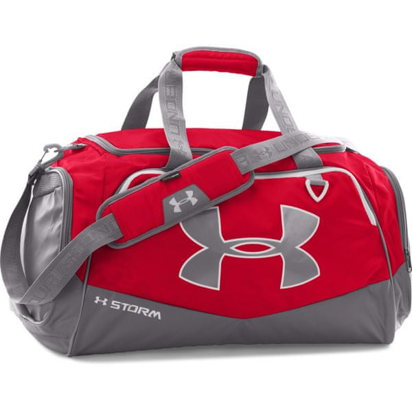 Under Armour Undeniable LG Duffel II Red Graphite White