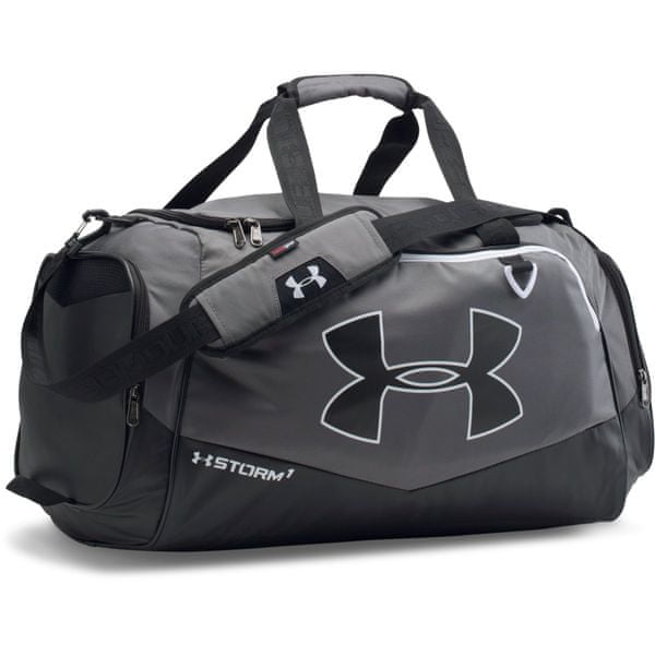 Under Armour Undeniable MD Duffel II Graphite Black White