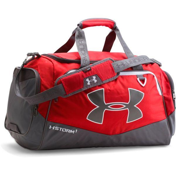 Under Armour Undeniable MD Duffel II Red Graphite White