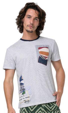 Desigual pánské tričko Michigan S viacfarebná